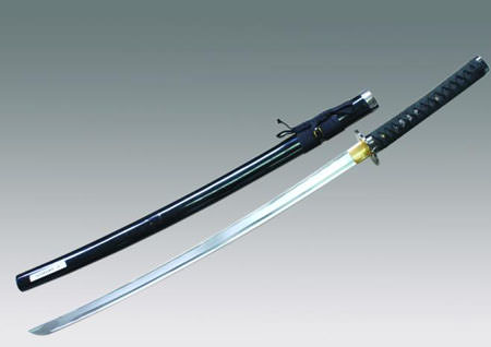 Hand Honed Razor Sharp Edge Samurai Sword with Sword Bag 40&quot;