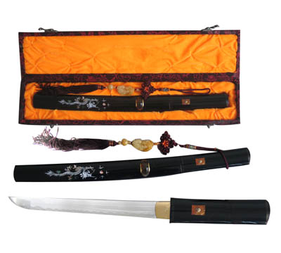 Mausashi Tanto Sword and Tassel 14 1/2""