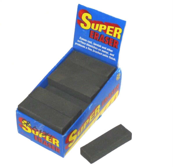 SUPER ERASER Knife & Metal Rust Remover SR0124