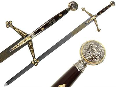 Decorative Claymore Sword 56""