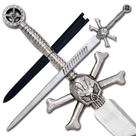 Pirate Skull & Cross Bone Sword PK10069WS