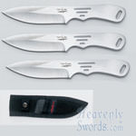 Hibben Generation 2 - Small Thrower (set of three)