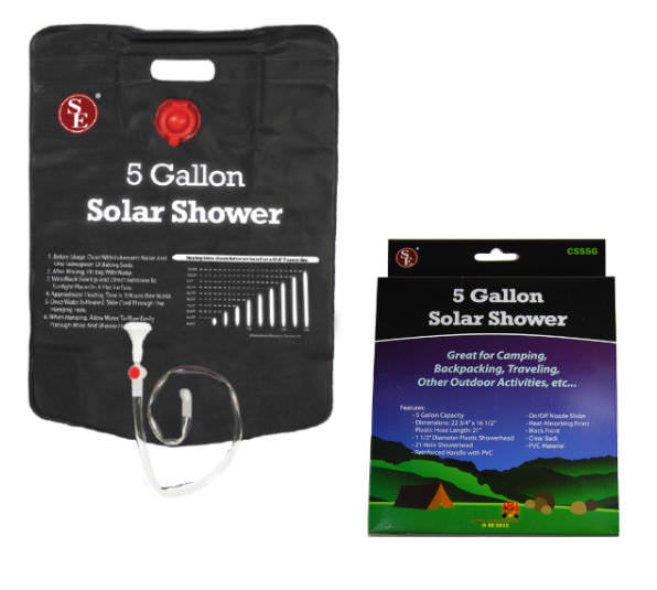 Solar Shower 5 Gallon CSS5g