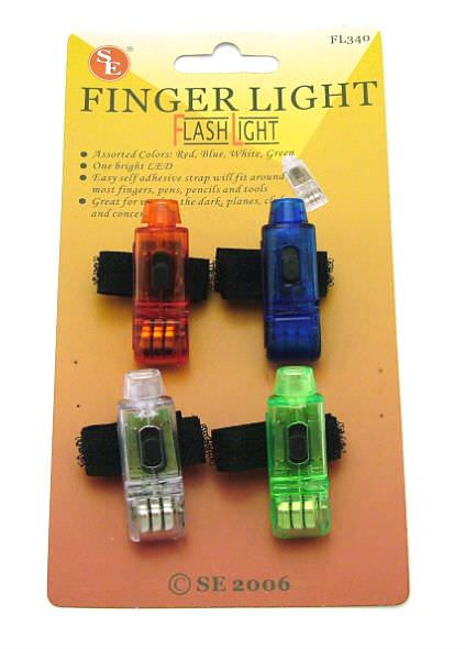 Super Bright LED Finger lights FL340