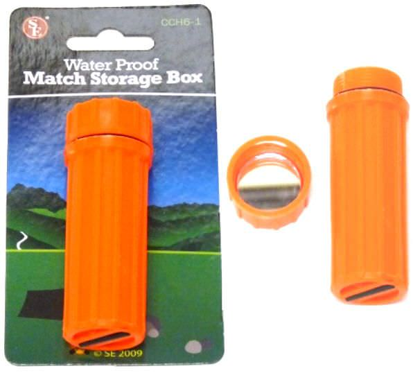 Survival Water Proof Match Box CCH6-1