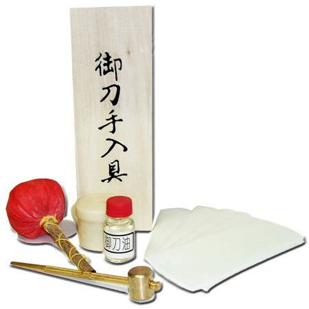 Sword Maintenance / Cleaning Kit JL600