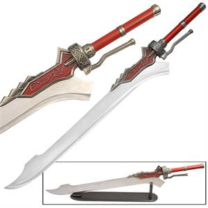 Devil May Cry Red Queen Sword of Nero and Stand 50 1/2&quot;