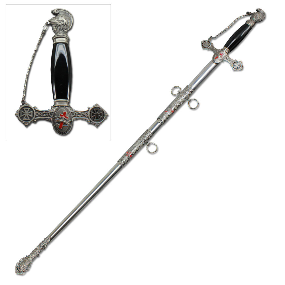 Templar Knight St. John Crusader Masonic Sword