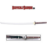 Full Tang 24-K Gold Samurai Sword