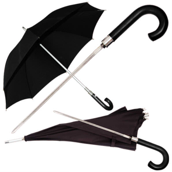 Umbrella / Sword Cane PK2498blk