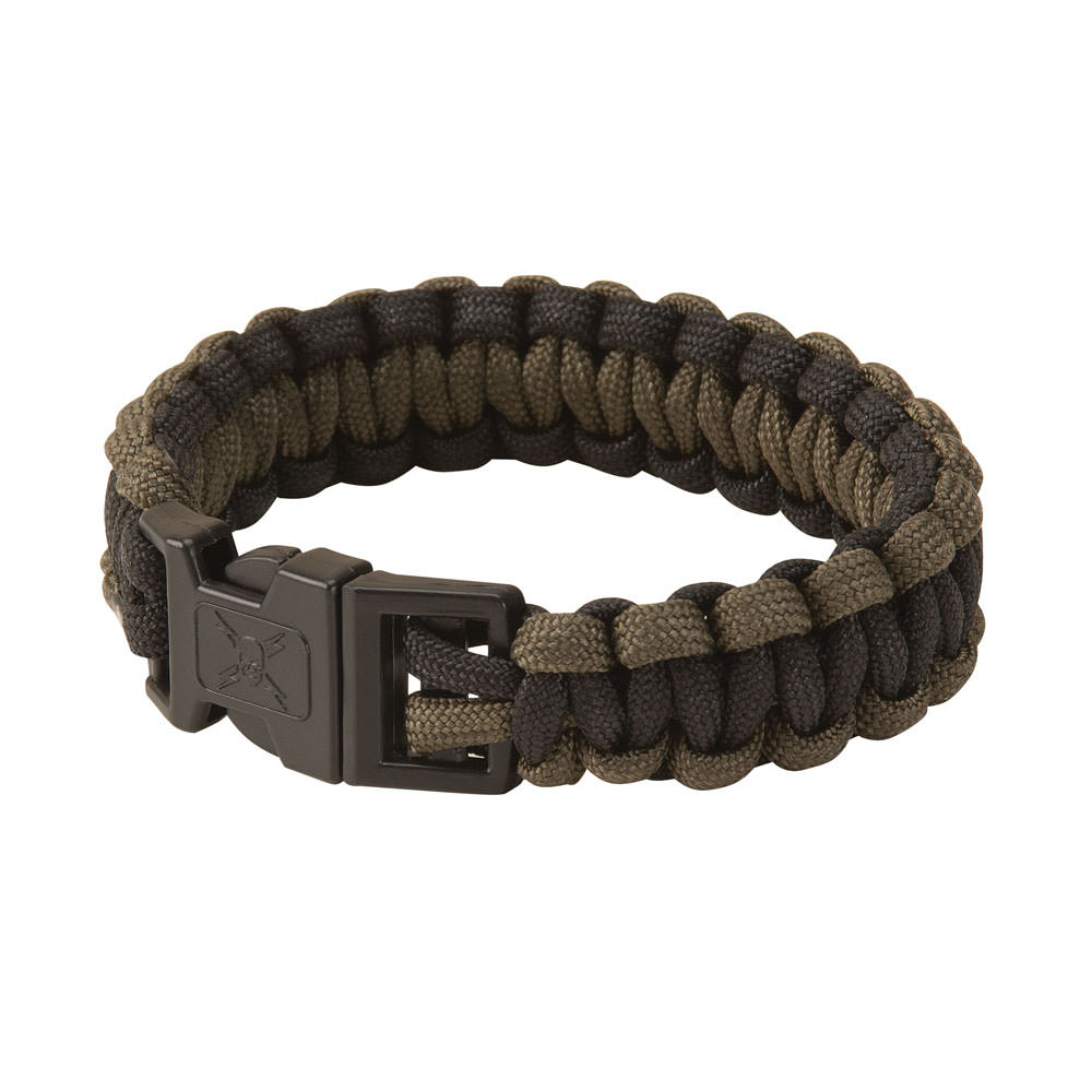 United Elite Forces Survival Bracelet OD Green 9""