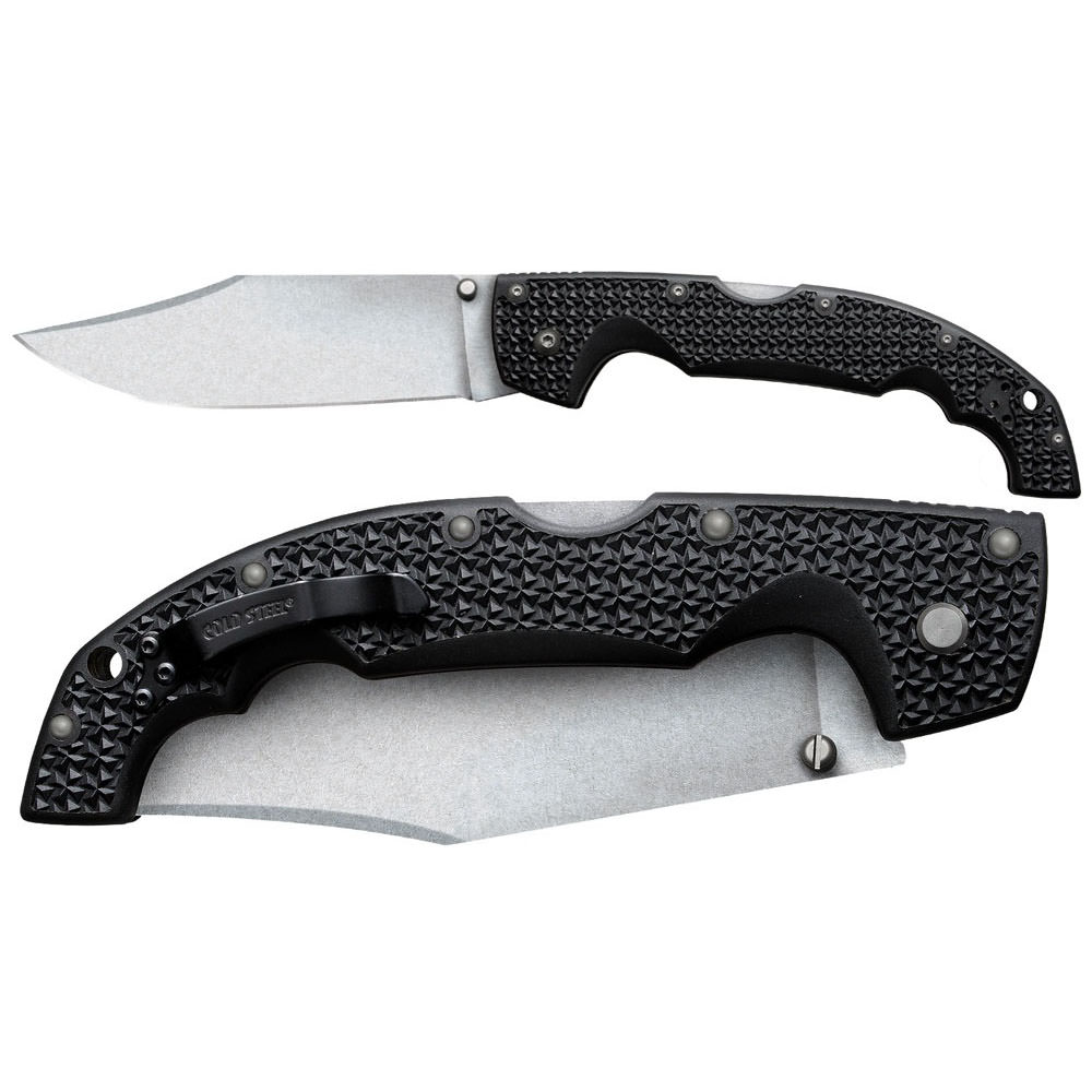Voyager X Large Clip Point Plain Edge 12""