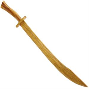 Persian Prince Sword Scimitars Wooden Royalty 33""