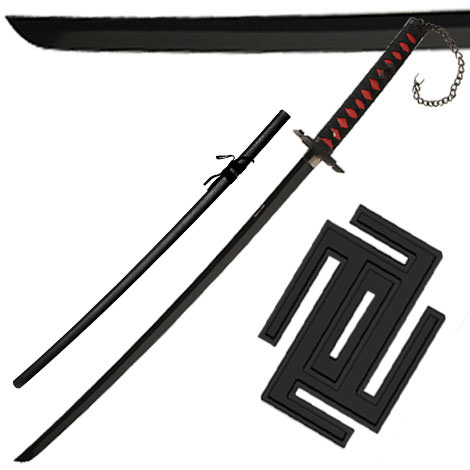 Ichigo Tensa Bankai Sword Cutting Moon Stainless Steel 40""