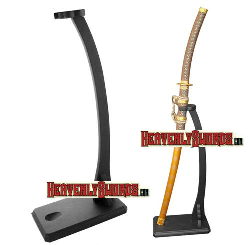 Single Deluxe Vertical Shogun Upright Sword Stand, Heavy Duty