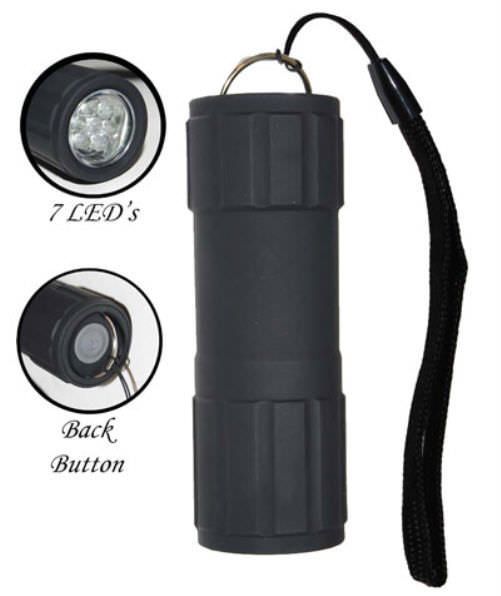 Waterproof Shock resistant 7 Led Flashlight FL3031WSB