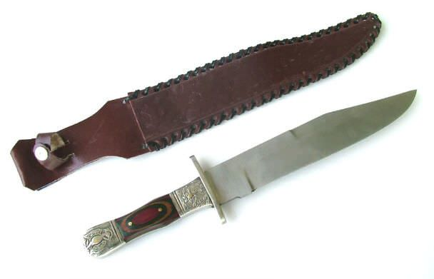Western Mustang Bowie Knife F176CW