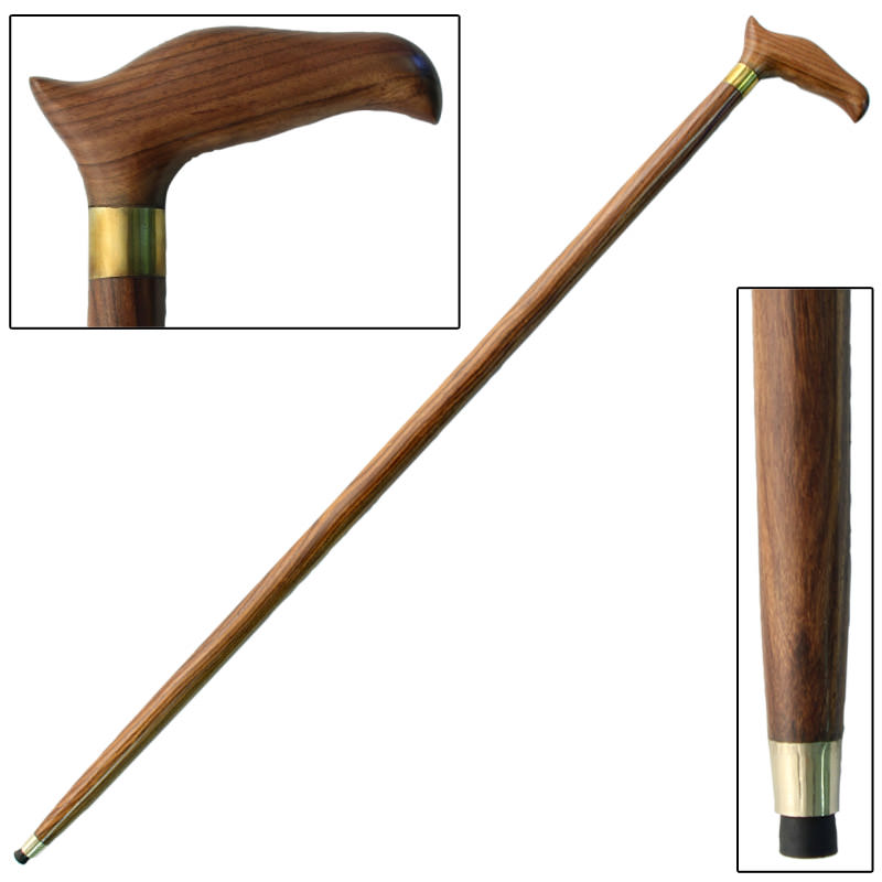 Wooden Eagle Head Sheesham Grip Cane