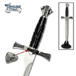 Tomahawk Medieval Lord's Dagger and ring 15""