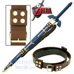 Legend of Zelda - Leather Belt with Sword Straps