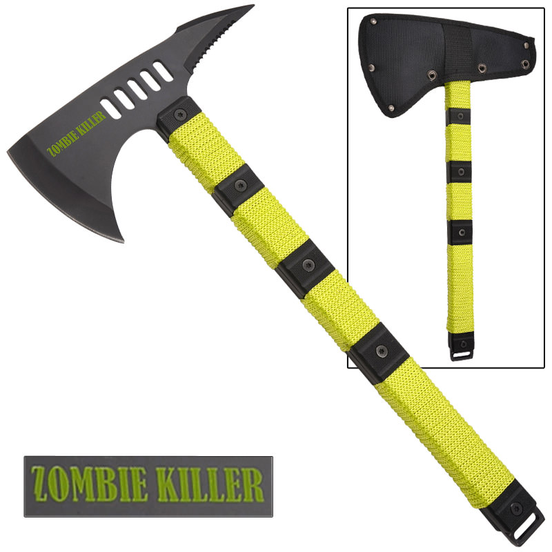Zombie Killer Tactical Tomahawk Axe 14.5""