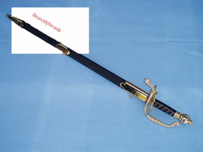 Zorro with Hard Leather Scabbard 38""