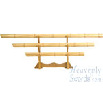 Natural Bamboo Sword Set