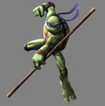 "TMNT - Donatello's Teenage Mutant Ninja Turtles 72"" Bo Staff"