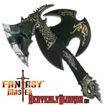 Demon Dragon Fantasy Axe