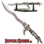Fire Dragon Fantasy Knife 24""