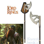 Walking Axe of Gimli Lord of the Rings LOTR