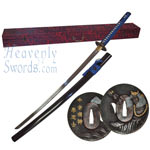 Handmade Samurai Sword w/ Display Box