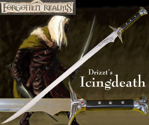Forgotten Realms - Icingdeath: Sword of Drizzt Do'Urden