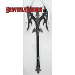 Black Legion Battle Axe - Black Blade