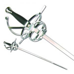 Medieval Rapier with Scabbard