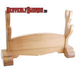 Hanwei - Table Sword Stand - 2 Swords Natural
