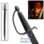 Captain Jack Sparrow&#039;s Pirates of the Caribbean Cutlass 38&quot;