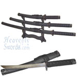 Black Leather Sword Set