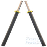 Shinai Padded Bokken (Set Of Two) 35 1/2""