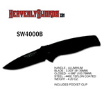 S&W SWAT Medium Regular Blade Black