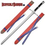 Dragonball Z Trunks Sword - Red Scabbard 42&quot;