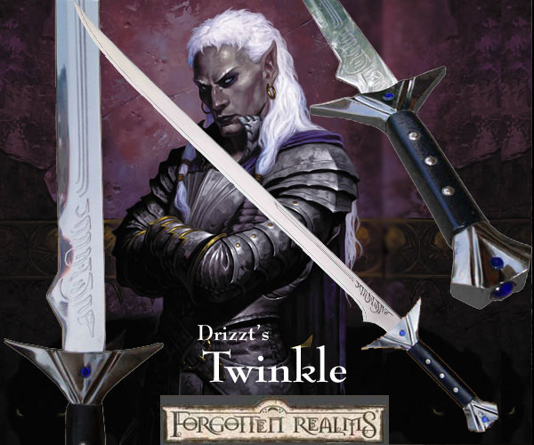Forgotten Realms - Twinkle: Sword of Drizzt Do'Urden
