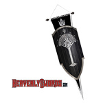 Limited Edition - Second Age Gondorian Shield Lord of the Rings LOTR