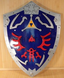 Legend of Zelda Link's Hylian shield (metal)