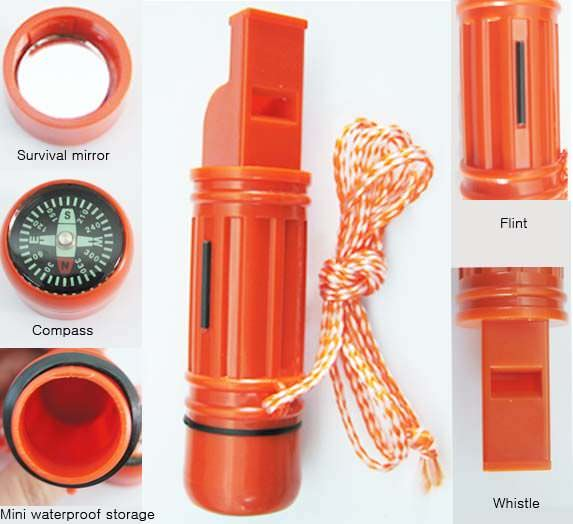 5 in 1 Survival Whistle Kit CCH5-1
