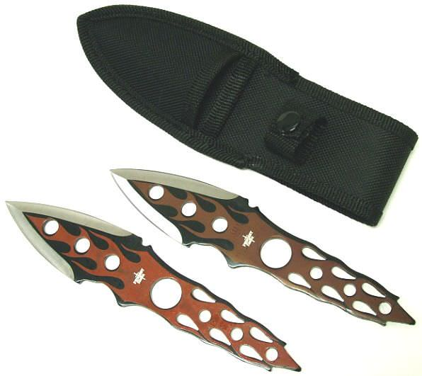FLAME Throwing Knife Set FM505
