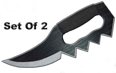 PAIR Wooden Trench Knives EM0019