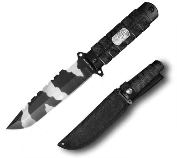 11 in Police Combat Knife SUR015264PBK