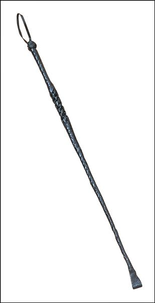 27in Riding Crop Braided Genuine Leather 891800
