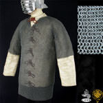 Chain Mail Haubergeon - Butted - Zinc Coated - High Tensile Steel 48'' Chest